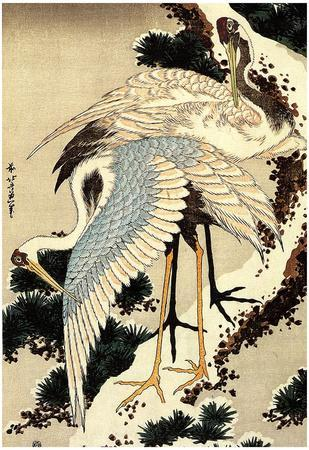 https://imgc.allpostersimages.com/img/posters/katsushika-hokusai-two-cranes-on-a-pine-covered-with-snow-art-poster-print_u-L-F59KEX0.jpg?p=0