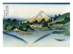 Watermill at Onden by Katsushika Hokusai