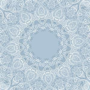 Lace Background: Mandala by Katyau