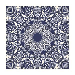Mandala: Indian Decorative Pattern by Katyau
