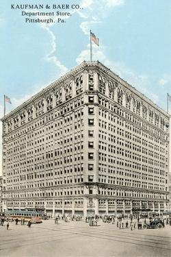 Kaufman and Baer Department Store, Pittsburgh