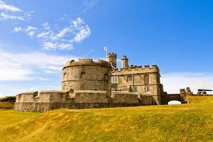 Pendents Castle, Falmouth, Cornwall, England, United Kingdom, Europe by Kav Dadfar