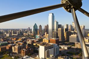 Skyline from Reunion Tower, Dallas, Texas, United States of America, North America by Kav Dadfar