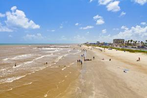 Stewart Beach, Galveston, Texas, United States of America, North America by Kav Dadfar