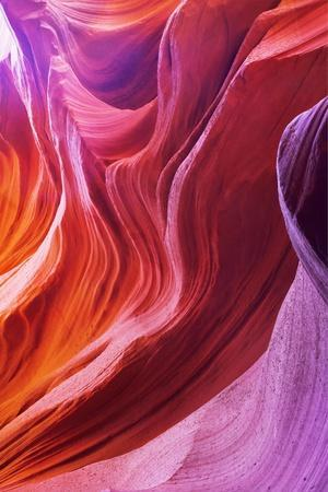 Magic Colors Of Canyon Antelope In The Usa