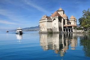 Well-Known Chateau De Chillon on Lake Geneva by kavram