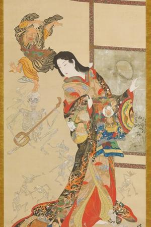 Jigoku Dayu by Kawanabe Kyosai