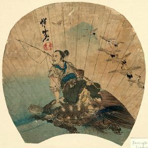 Urashima by Kawanabe Kyosai