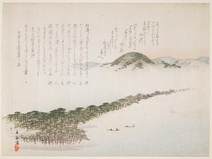 View of Amamo Hashidate, May 1906 by Kawanabe Kyosai