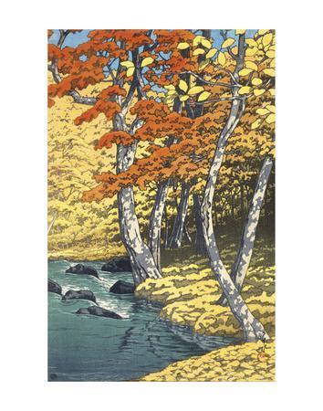 Autumn at Oirase (Oirase no aki), 1933