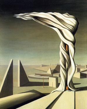 J'Ai Vu Trois Cites, 1944 by Kay Sage