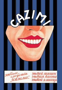Kazimi Dental Products: Toothpaste, Powder, and Mouthwash