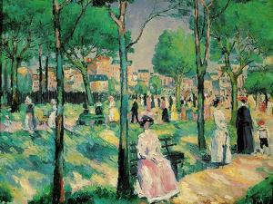 On the Boulevard, 1903 by Kazimir Malevich