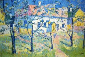 Spring - Blossoming Garden, 1904 by Kazimir Malevich