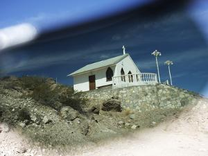 A Small Chapel on Isla San Marcos Seen Through Polarized Sunglasses by Keenpress