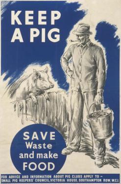 Keep a Pig Poster