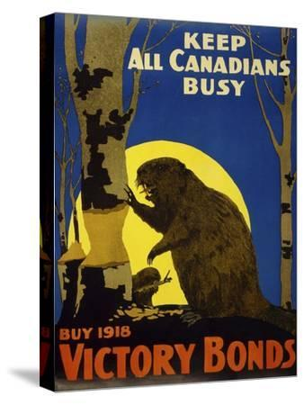 Keep All Canadians Busy, 1918 Victory Bonds