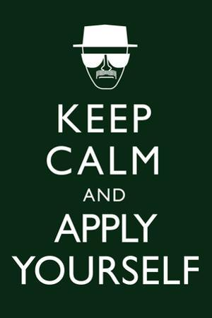 Keep Calm and Apply Yourself Television