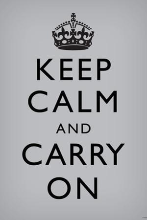 Keep Calm and Carry On, Grey