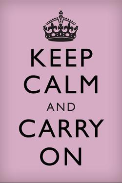 Keep Calm and Carry On, Lilac
