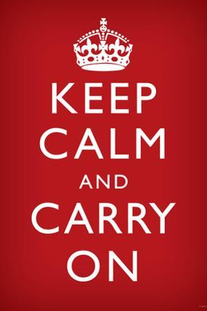 Keep Calm and Carry On, Red