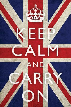 Keep Calm and Carry On, Union Jack Flag