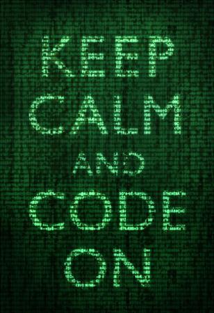 Keep Calm and Code On