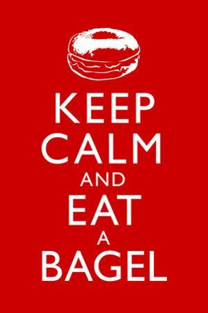 Keep Calm and Eat a Bagel