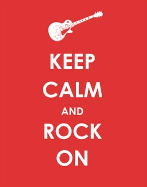 Keep Calm and Rock On (Guitar)