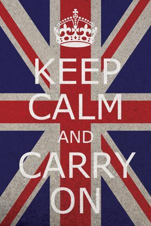 Keep Calm Union Jack