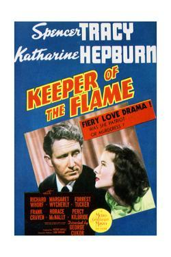 Keeper of the Flame - Movie Poster Reproduction