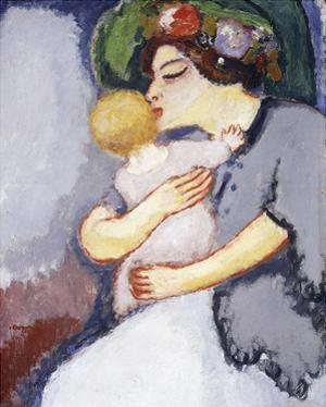 My Child and Her Mother, 1908 by Kees van Dongen