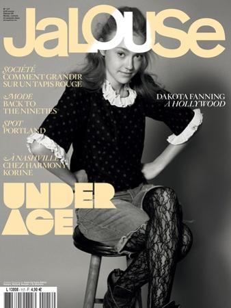 Jalouse, February 2009 - Dakota Fanning by Keiron O'Connor