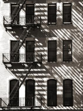 A Brick Building with a Fire Escape Off of Union Square by Keith Barraclough