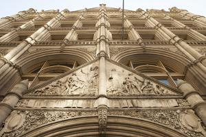 Architectural and Sculptural Details of a Building at 281 Park Avenue by Keith Barraclough