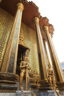 Entrance to Wat Phra Kaew, Home of the Emerald Buddha by Keith Barraclough