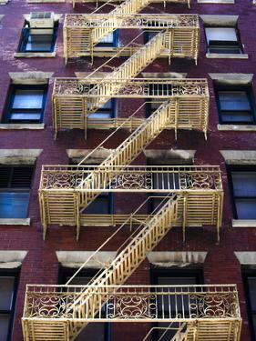 Stairway Outside a Building on Mercer Street in Soho by Keith Barraclough