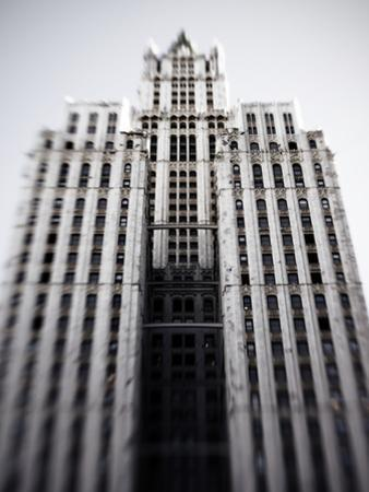 The Woolworth Building on Broadway and Park Place by Keith Barraclough