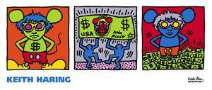 Andy Mouse, 1986 by Keith Haring