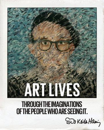 Art Lives by Keith Haring