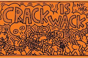 Crack is Wack by Keith Haring