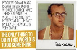 Do Something by Keith Haring