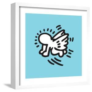 Flying Baby by Keith Haring