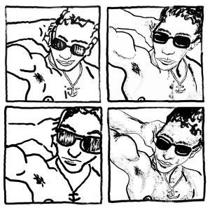 Gil, July 14, 1988 by Keith Haring