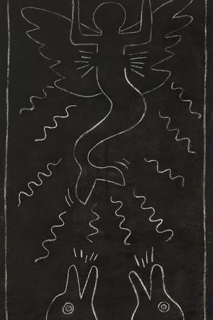 Haring - Subway Drawing Untitled - 13