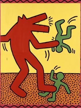 Haring - Untitled October 1982 by Keith Haring