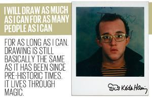 I Will Draw by Keith Haring