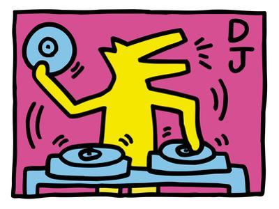 Pop Shop (DJ) by Keith Haring