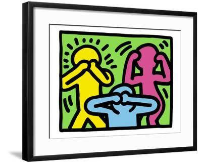 Pop Shop (See No Evil, Hear No Evil, Speak No Evil) by Keith Haring