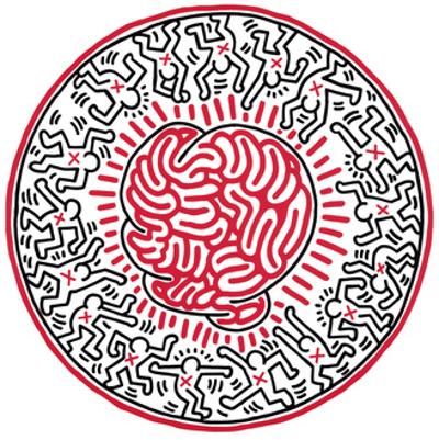 Untitled, 1985 by Keith Haring